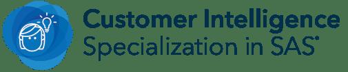customer intelligence specialization in sas