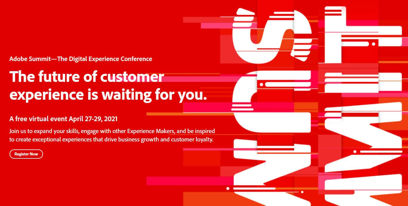Adobe Summit - The Digital Experience Conference